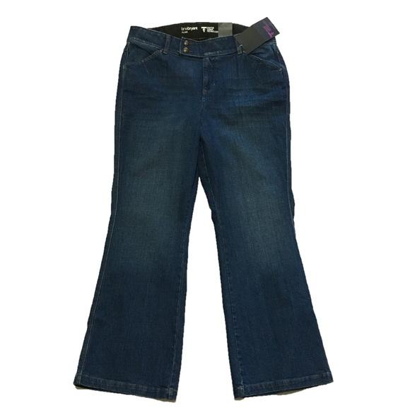 0d6bba291da Lane Bryant Flare Jeans Tummy Control Sz 16 NEW